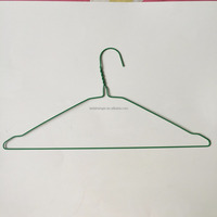16 inch Disposable Dry cleaner powder coated wire hanger