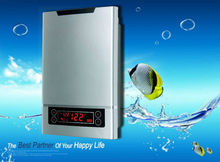 wall mounted electric instant tankless hot water heater unit