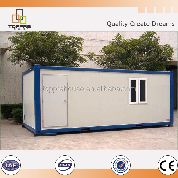 high construction efficiency economic cost flexible design 20ft eps container house for living