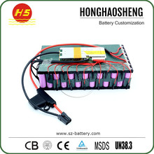 High power 800w 36v ebike battery pack 18650 36v 8.7ah lithium battery kits for electric bike