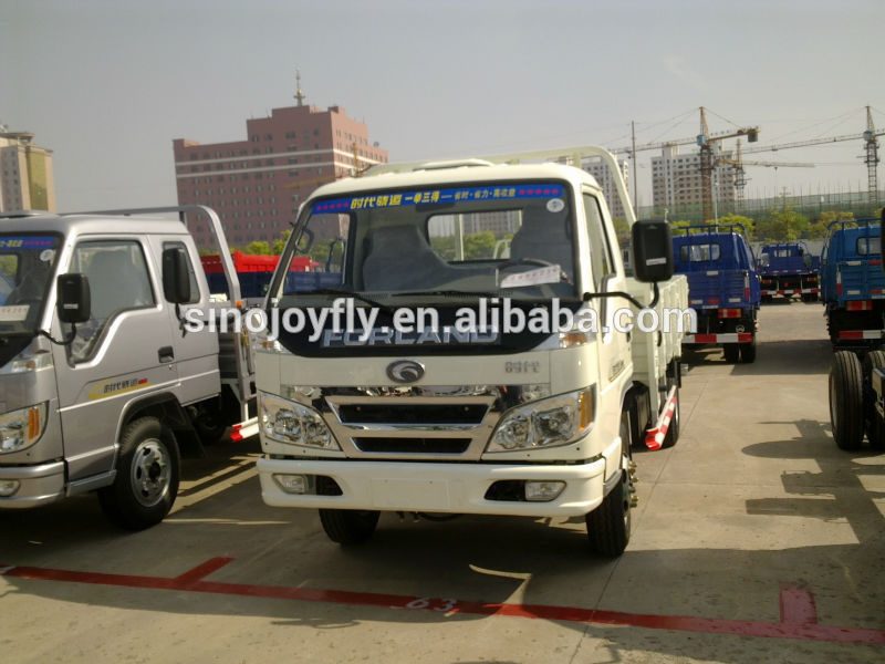 foton heavy duty van/box duty truck hot selling export truck