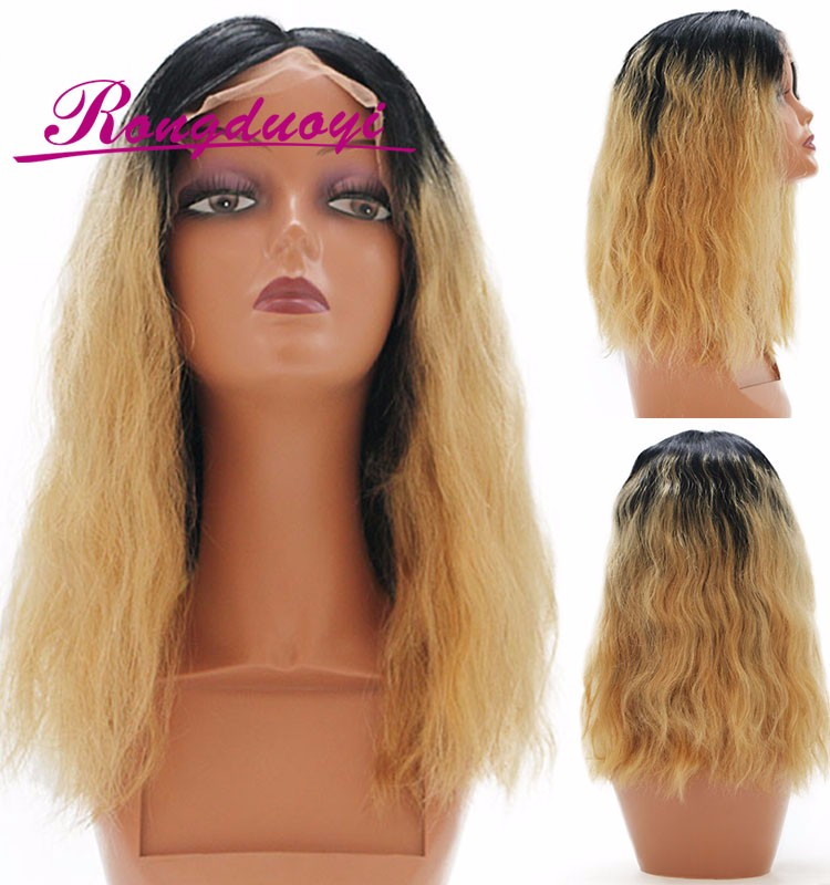 8A Grade Mink Brazilian Hair Wig Ombre Natural Wave Virgin Human Hair Wig