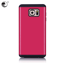 2016 New TPU pudding soft gel skin Pink back cover case for samsung S6