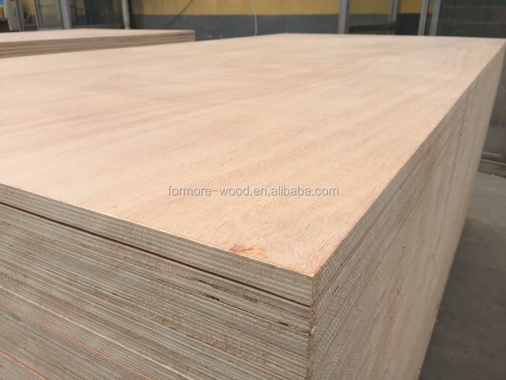 3x6ft plywood 12mm okoume plywood BB/CC grade