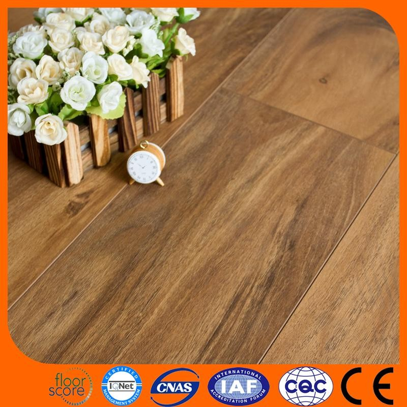 High quality russian smoked oak wood flooring