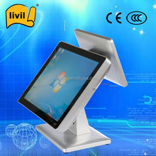 Touch screen pos touch computer / pos machine with Wifi Printer