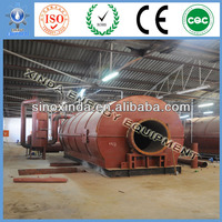 2600mm 2600mm 6600mm Used Plastic Pyrolysis