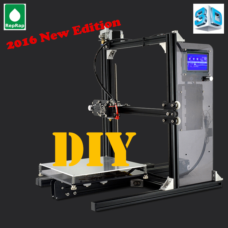 2016 Power Off Resume Metal Structure Prusa I3 3D Printer