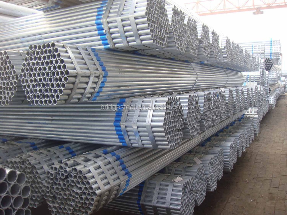 Best Selling Thin Wall Galvanized Stee Pipe