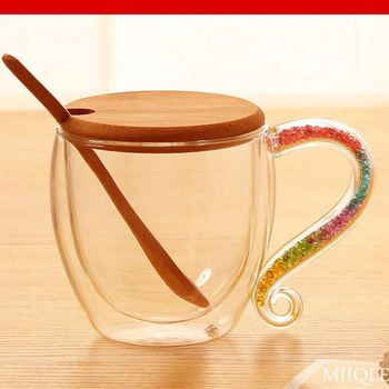 Wholesale Double Wall Glass Coffee Cup with best price