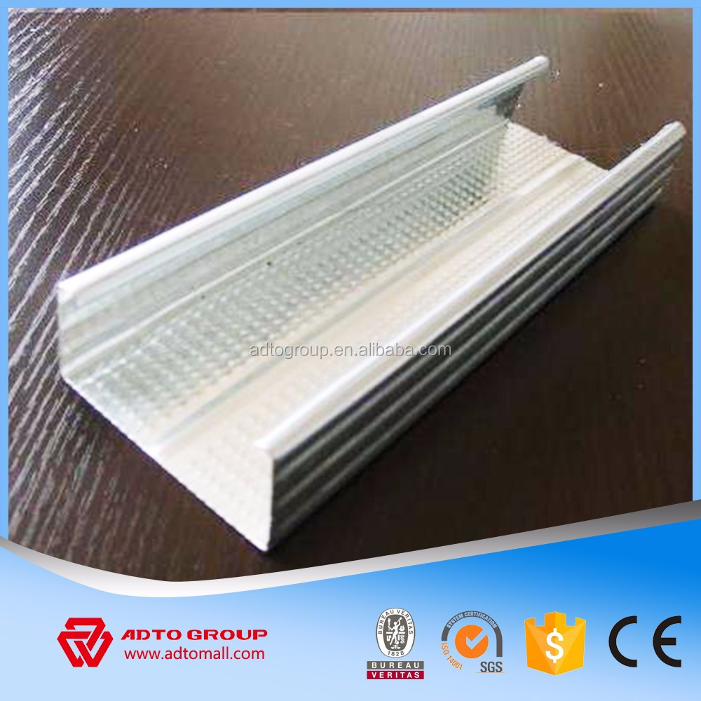 Light gage steel joist c channel for building