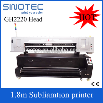 Industrial digital used textile printer china