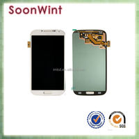 Wholesale for samsung galaxy s4 lcd screen i9500 i9505 i337 digitizer with frame assembly