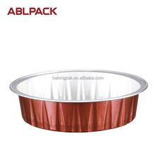 Best seller red aluminum baking cup