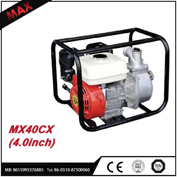 4inch hydraulic self priming gasoline engine irrigation water pump
