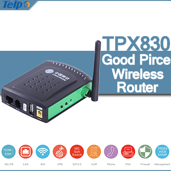 Telpo TPX830 Handy VoIP LTE Wireless Router with Voice and Data functions