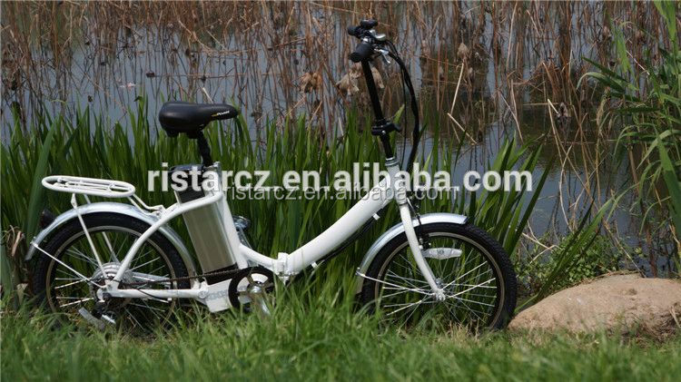 ce en15194 popular new design hidden battery folding electric bicycle 2016 RSEB636