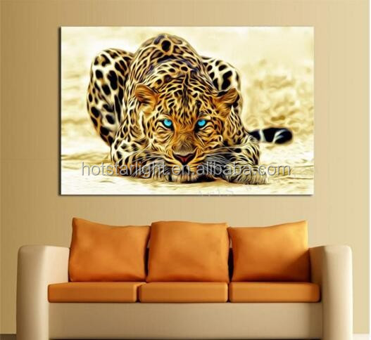 diy diamond painting animal tiger <strong>pictures</strong> of rhinestones 5pcs set square cross stitch needlework home decorative relative gifts