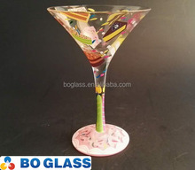 custom design cocktail glass cup from factory