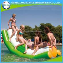 Inflatable water seesaw water sport equipment for water park