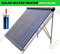 2013 New Metal Flat Absorber Heat Pipe Solar Collector with Diameter 100mm and Length 2000mm