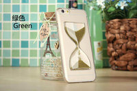 wholesale imitated sandyclock 3d liquid case for iphone 6