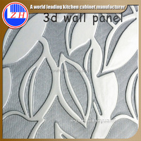 Zhihua murano decorative wood carving 3d wall panel