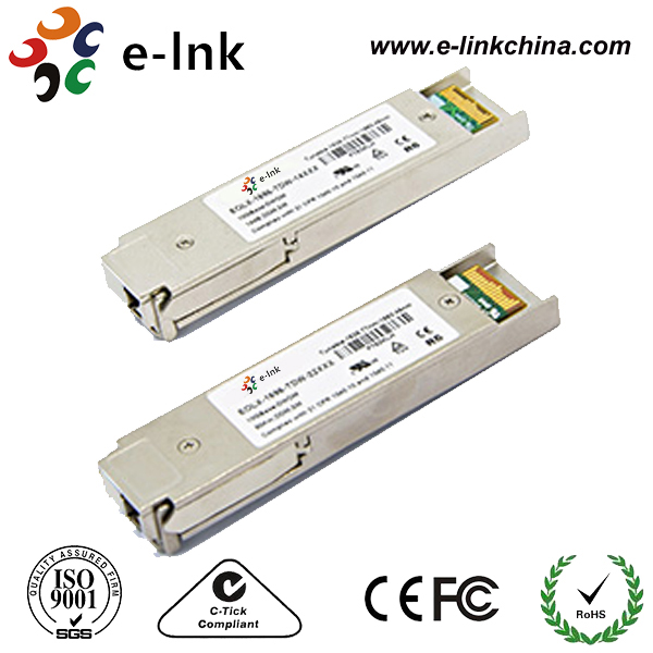 10Gbps DWDM XFP 80Km fiber optic transceiver with PIN receiver