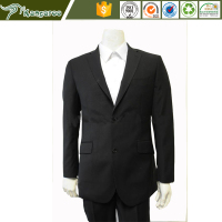 hot sell black mens office workwear uniform business wedding suits