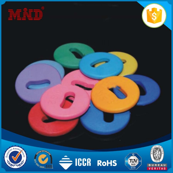 MDLT018 2016 Latest 15mm 13.56mhz Plastic Small button NFC Washable RFID Laundry Tag