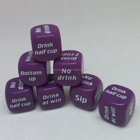Hot Sales Acrylic Drinking Dice
