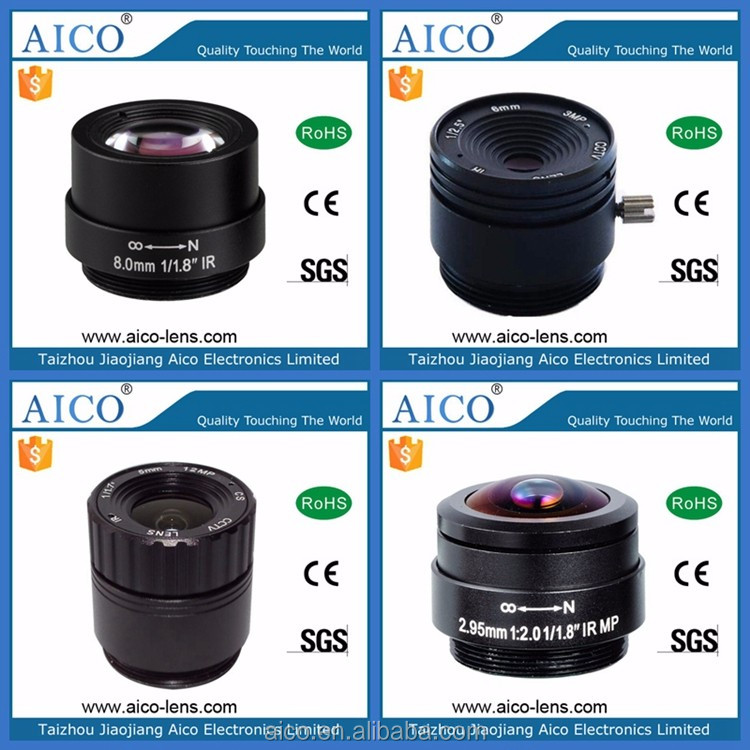 wide angle 1:1.2 2.5mm 1/2.7 inch F1.2 cs mount 3mp cctv lens