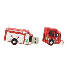 customize car promotional gift usb drive, Truck pvc pendrive, Van car shape PVC usb stick