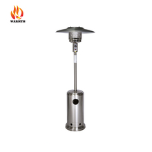 Essential garden patio heater, gas outdoor infrared heaters manufacturer, stainless steel patio heater with CE certification