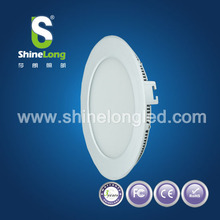 new design glass led panels round 15w ceiling led panel light surfacemounted daylight