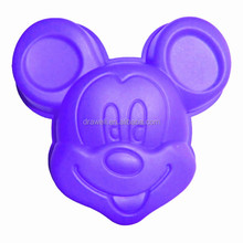 SC-2028 Mickey Mouse Soap Moulds Silicone Mold