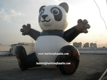 lovely panda inflaatble balloon made in China for sale/custom giant balloon