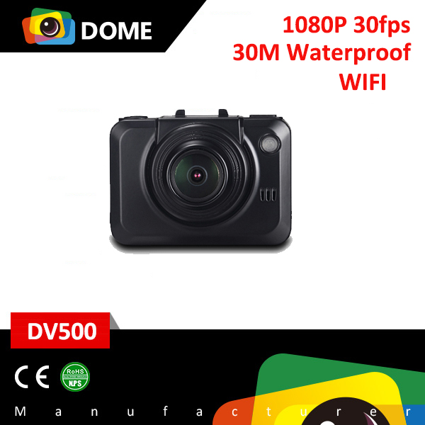 Outdoor sport wifi action camera for Bike/Diving/Surfing/Skydiving sport DV DV500