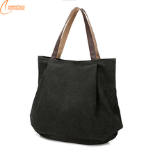 2017 Latest Women fashion shopping Canvas tote bag
