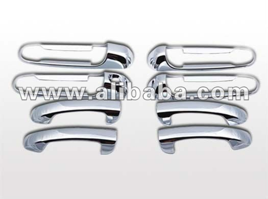 Chrome ABS Plastic Door Handle Cover Dodge Avenger Caliber Caravan Cargo Challenger Charger Colt Dakota Extended Cab Quad Cab