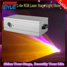 Professional stage 3D Animation 1w / 2w / 3w / 4w RGB Christmas Laser Light Show