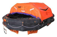 marine ship water-proof rubber life raft with 10p 25p 50p