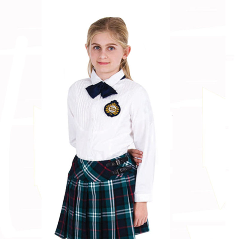 Custom Sexy Girl School Uniform Short Skirt Logo Embroidery View School Uniform Logo XHY ...