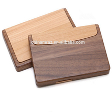 factory wholesale Wooden business Card case for man