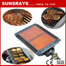 Sale outdoor professional bbq grill plate for gas stove