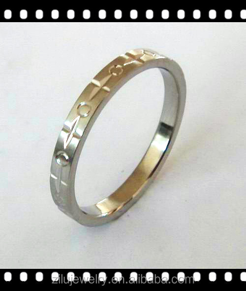 Hot Sale High quality stainless steel diamond engagement rings at good price