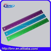 Wholesale 15cm 30cm custom office aluminium metal ruler