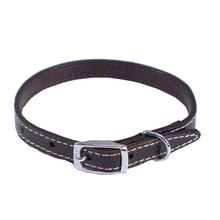 Durable High Quality Genuine Leather embroidered leather dog collars