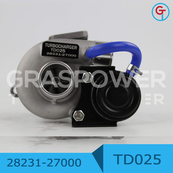 TD025 28231-27000 TURBOCHARGER D4EA <strong>ENGINE</strong>