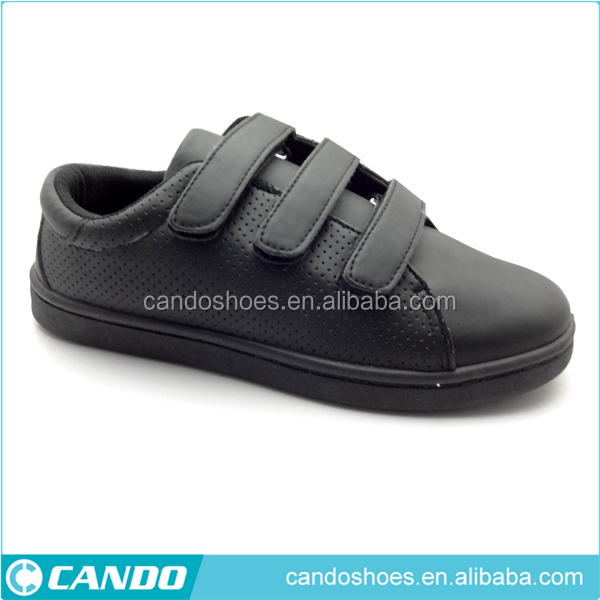 Good quality price leisure children skateboard shoes white label shoes